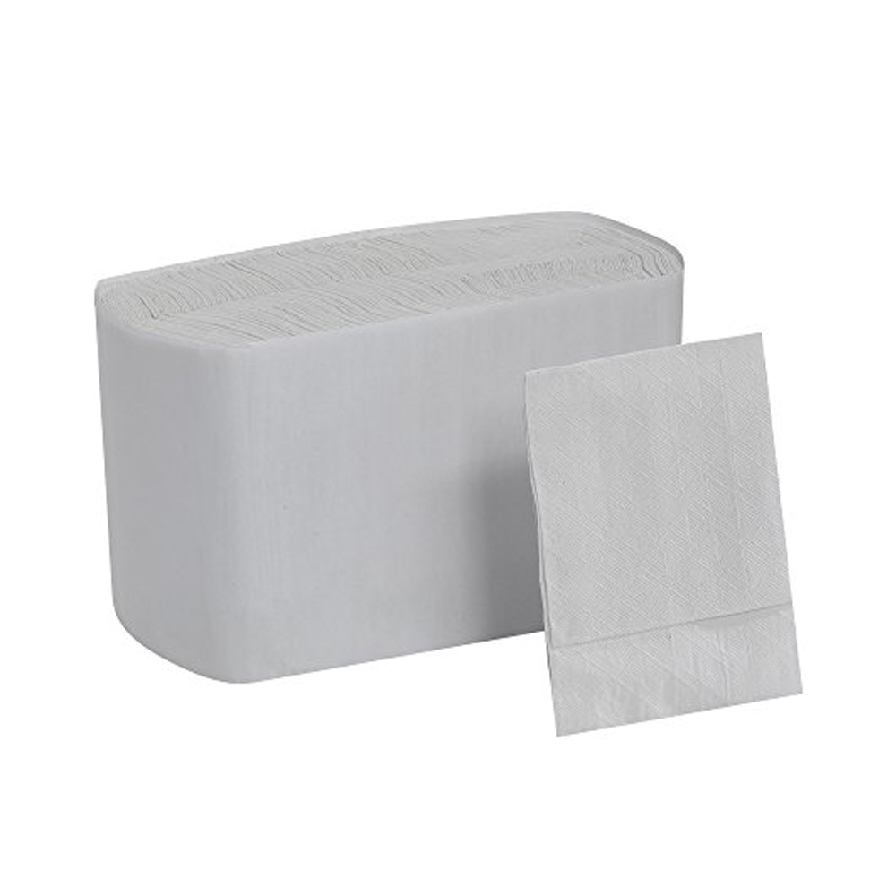 "Georgia Pacific White 7""x12"" TidyNap Low Fold Dispenser Napkin 39202"
