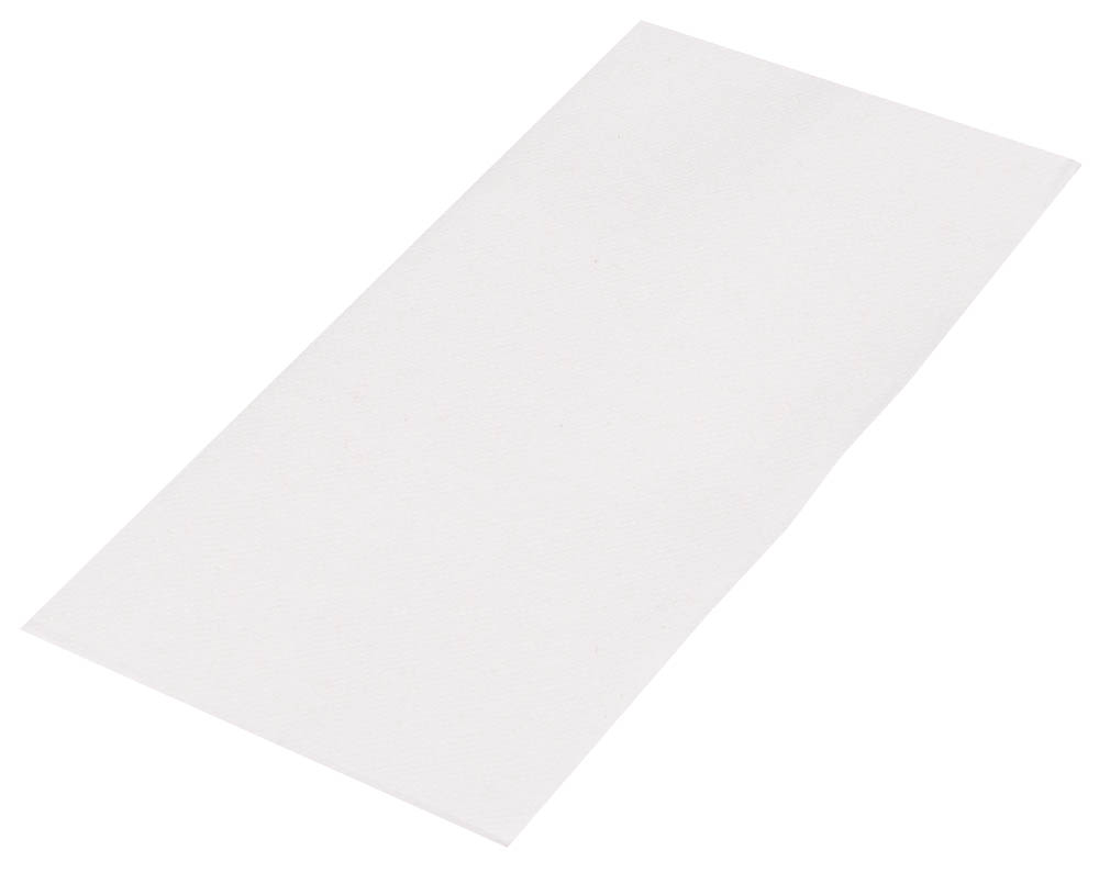 "Hoffmaster White 11.5""x15.5"" 2ply Fashnpoint Ultra White Guest Towel FP1200"