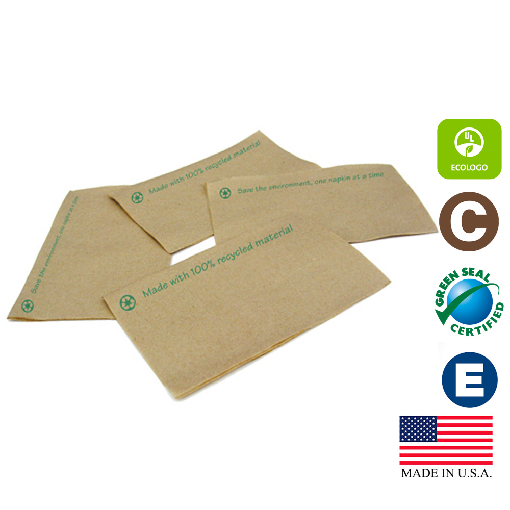 SCA Natural Tork Universal Interfold Xpress Dispenser Napkin DX606E