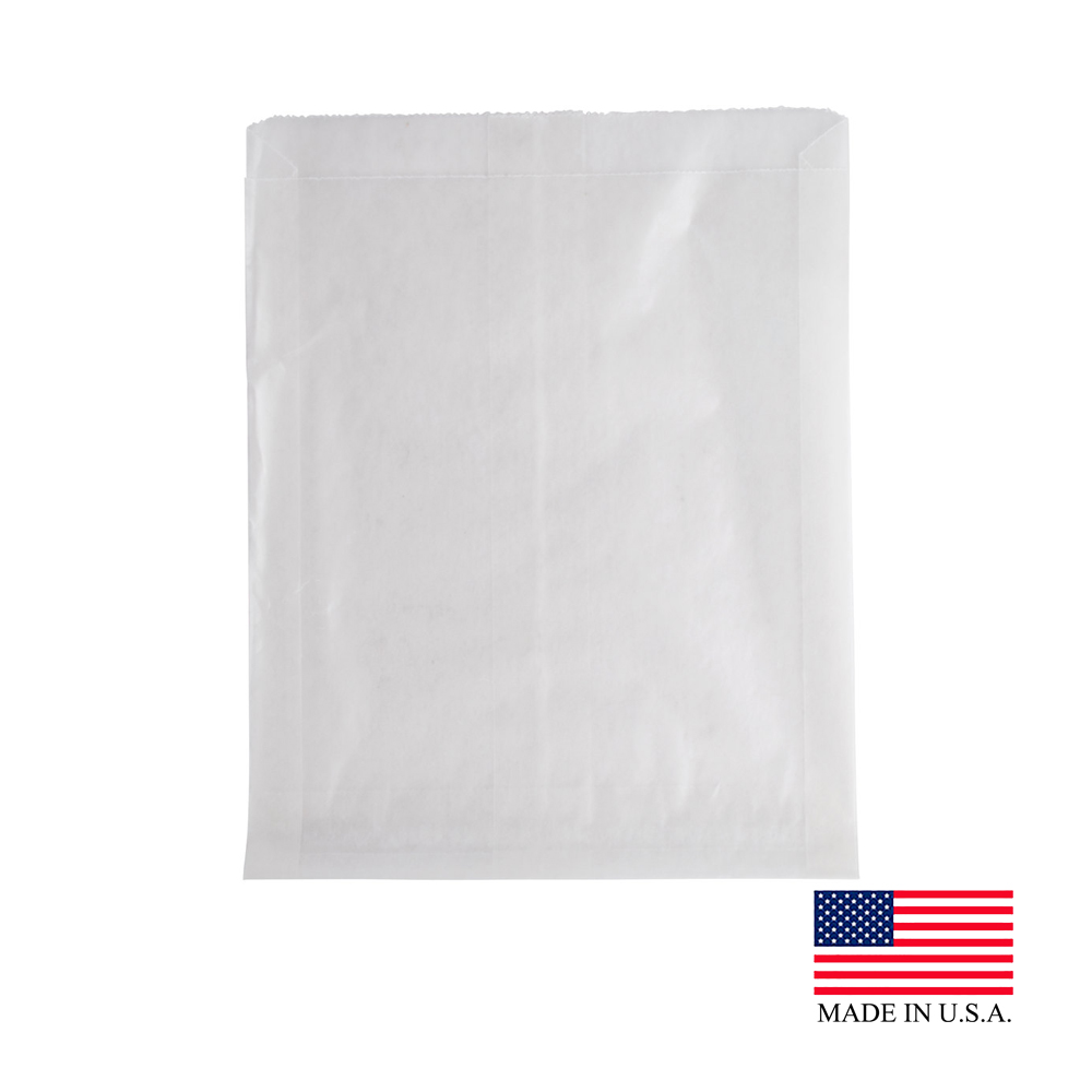 "Bagcraft Translucent 6""x1""x7"" Wet Wax Sandwich Bag 300404"