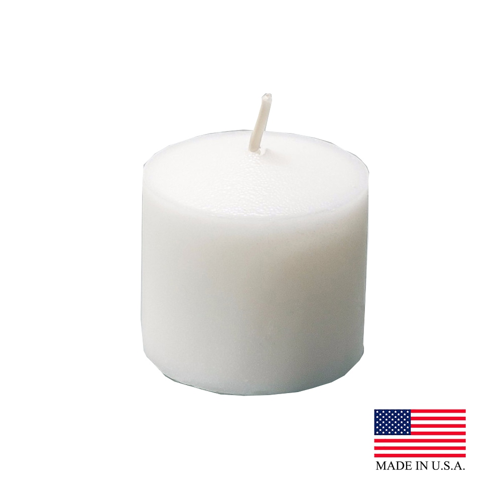 White 10 Hour Votive Candles 510-72-4