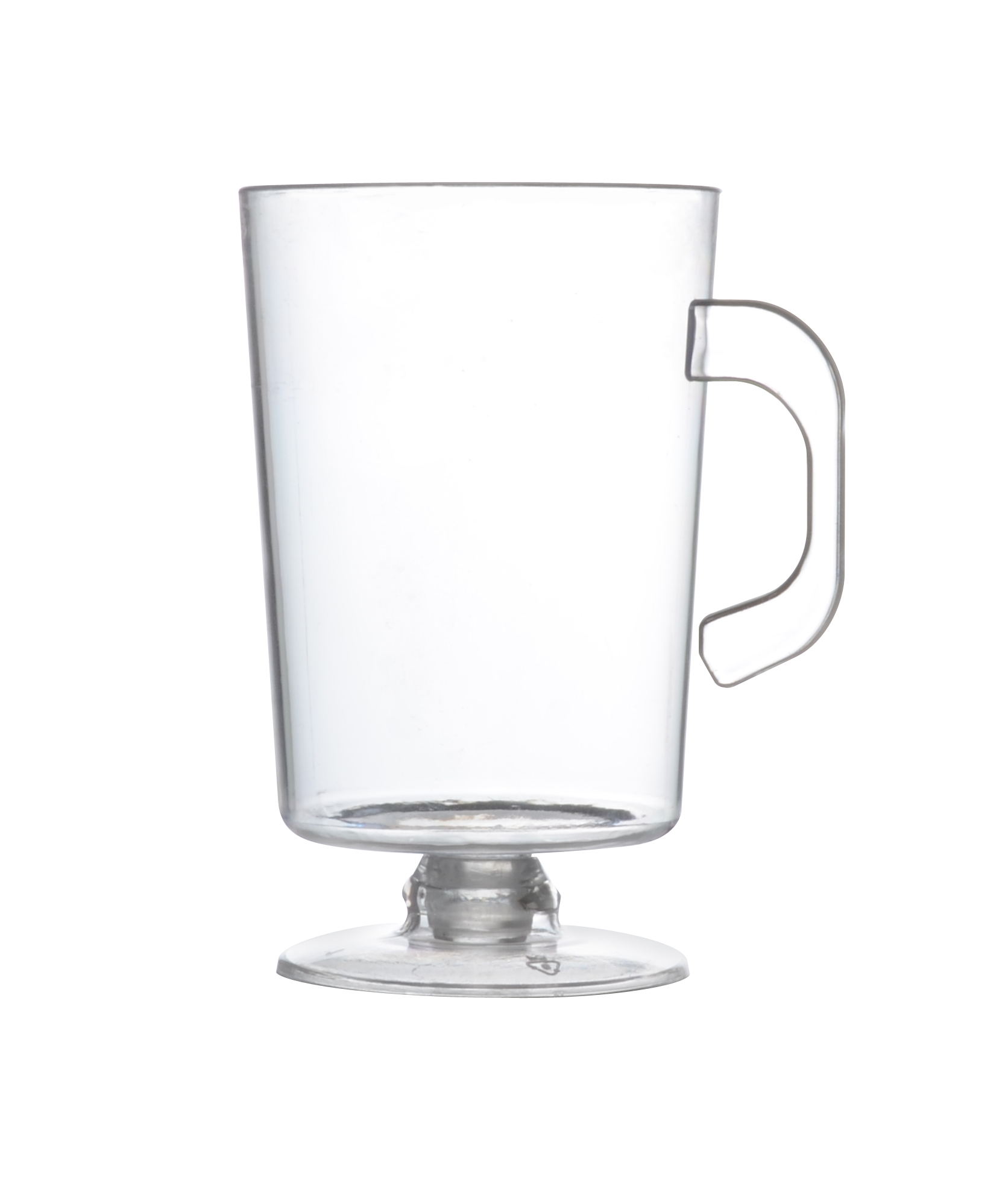 Fineline Settings Clear 2oz Tiny Espresso Mug 6416