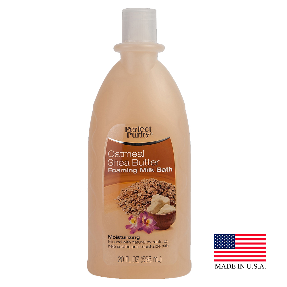 Davion 20oz Perfect Purity Oatmeal Shea Butter Foaming Bubble Bath 56620