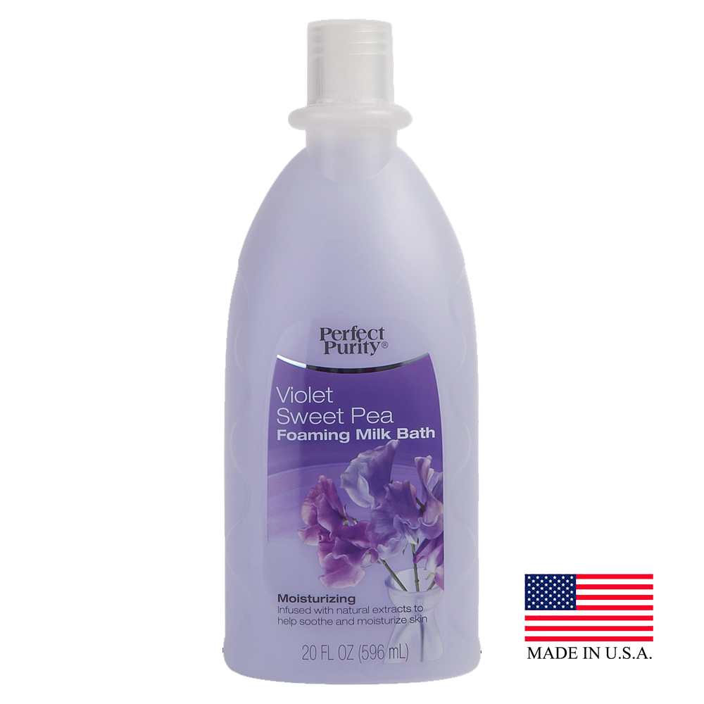 Davion 20oz Perfect Purity Sweet Pea Violet Foaming Bubble Bath 56720
