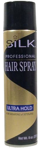 Blue Cross Labs 8oz Silk Professional Ultra Hold Hair Spray 229-5