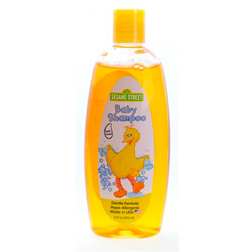 Blue Cross Labs Yellow 10oz Sesame Street Baby Shampoo 705-4