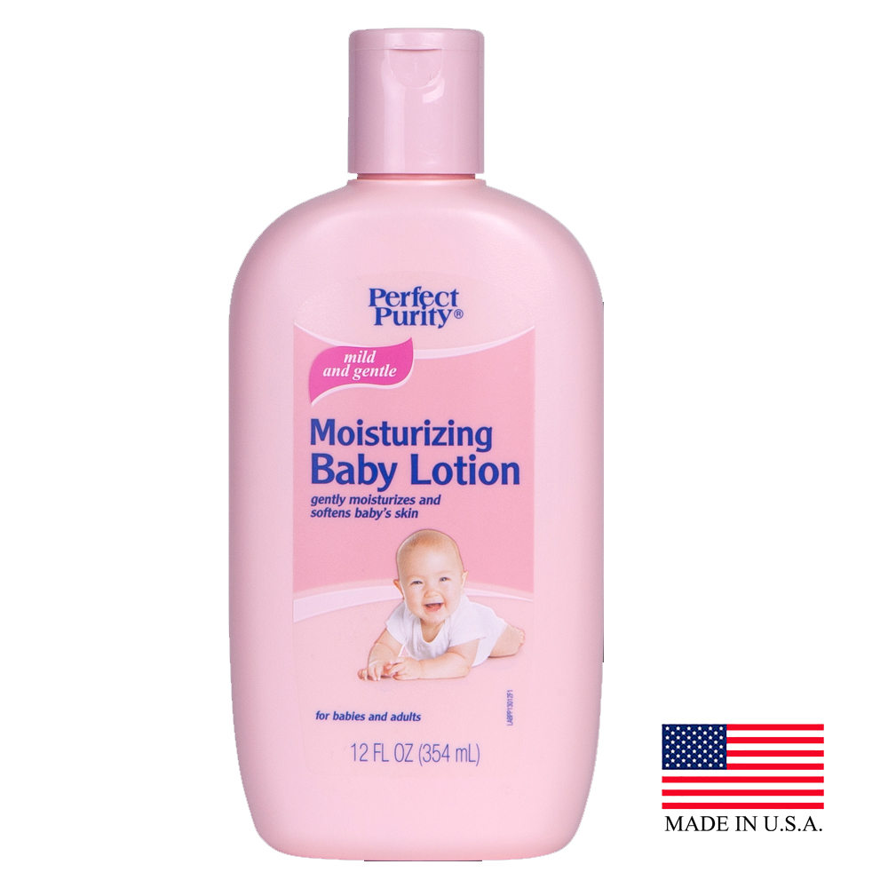 Davion Pink 12oz Perfect Purity Moisturizing Baby Lotion 13012