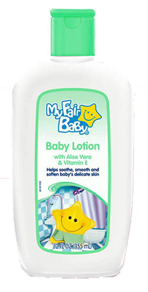 Delta Brands 12oz My Fair Baby Aloe Vera And Vitamin E Lotion 5071-12
