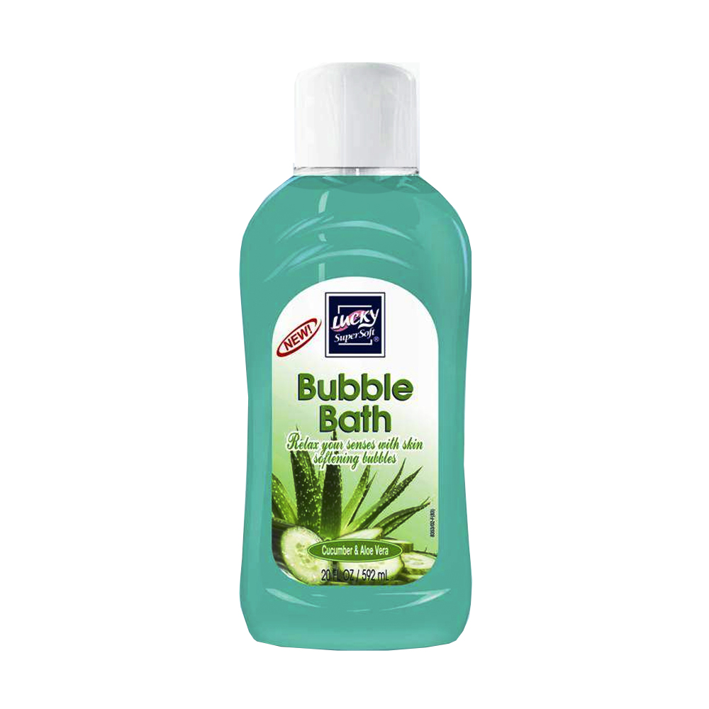 Delta Brands 20oz Lucky Super Soft Cucumber And Aloe Vera Bubble Bath 8353-12