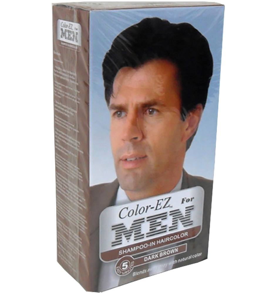 Blue Cross Labs Color EZ Men's Dark Brown Shampoo In Hair Color 973-7