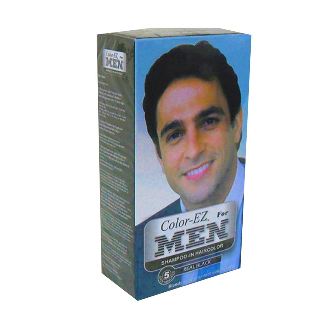 Blue Cross Labs Color EZ Men's Real Black Shampoo In Hair Color 972-0