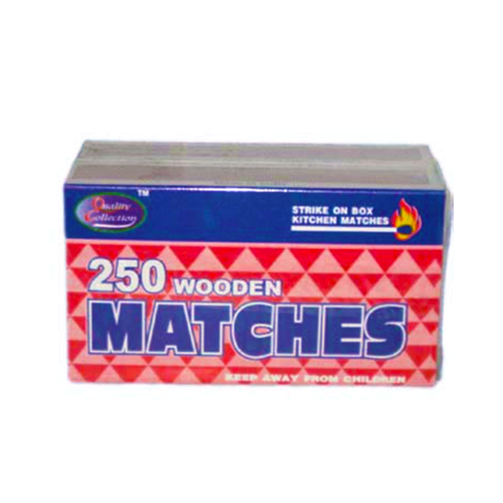 Quality Collection 250 Count Wooden Kitchen Matches 15010