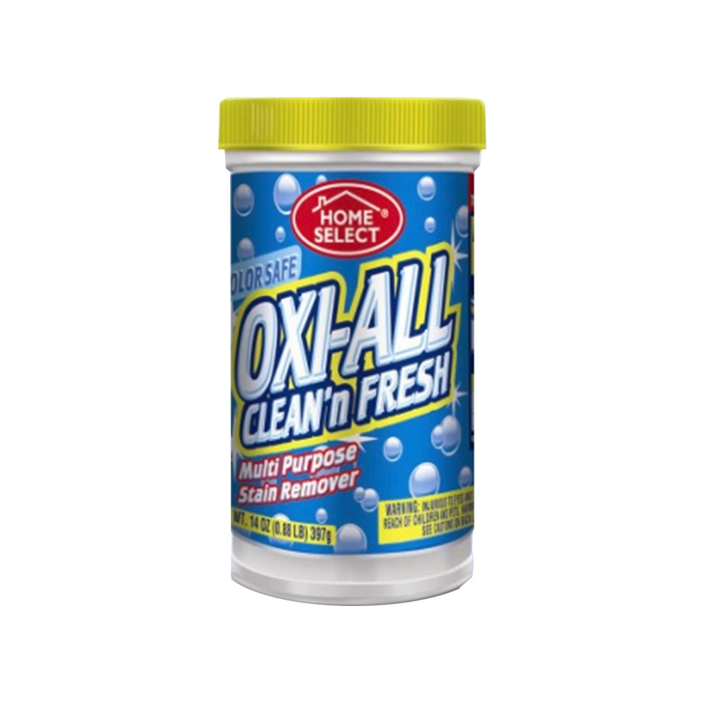 Delta Brands 14oz Oxi-All Clean And Fresh Oxi     Powder Multi Purpose Stain Remover 10001-12