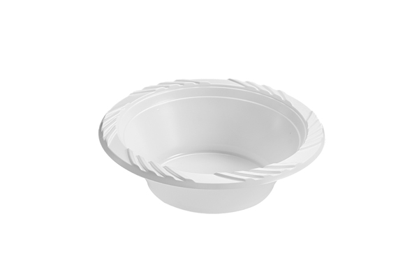 White 12oz Plastic Soup Bowl 237