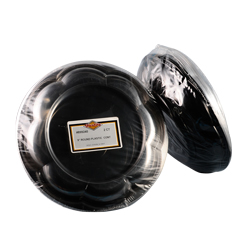 Convenience Packs Black 40oz Plastic Bowl And Clear Lid 40 OZ BOWL/LID