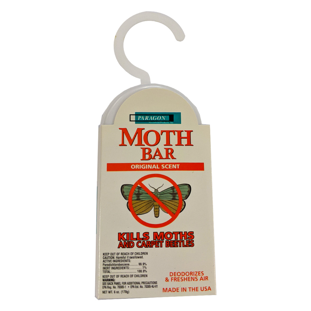 Moth Bar 6oz Closet Block Original Scent 360-02