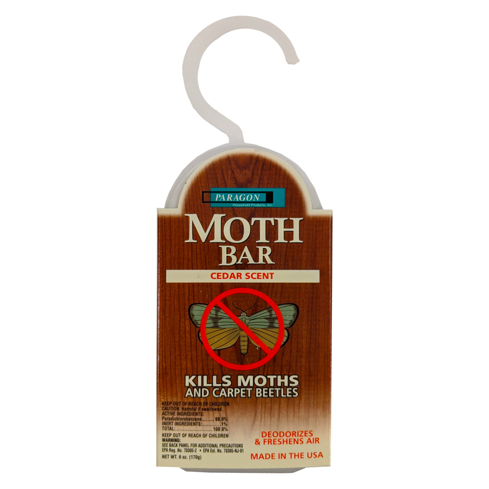 Moth Bar 6oz Closet Block Cedar Scent 361-02
