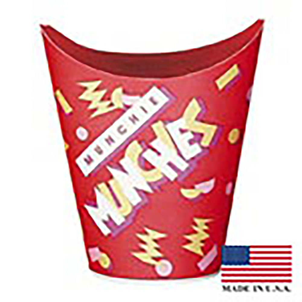 Solo Red 9oz Paper Fold Top Munchie Cup GF90-00645