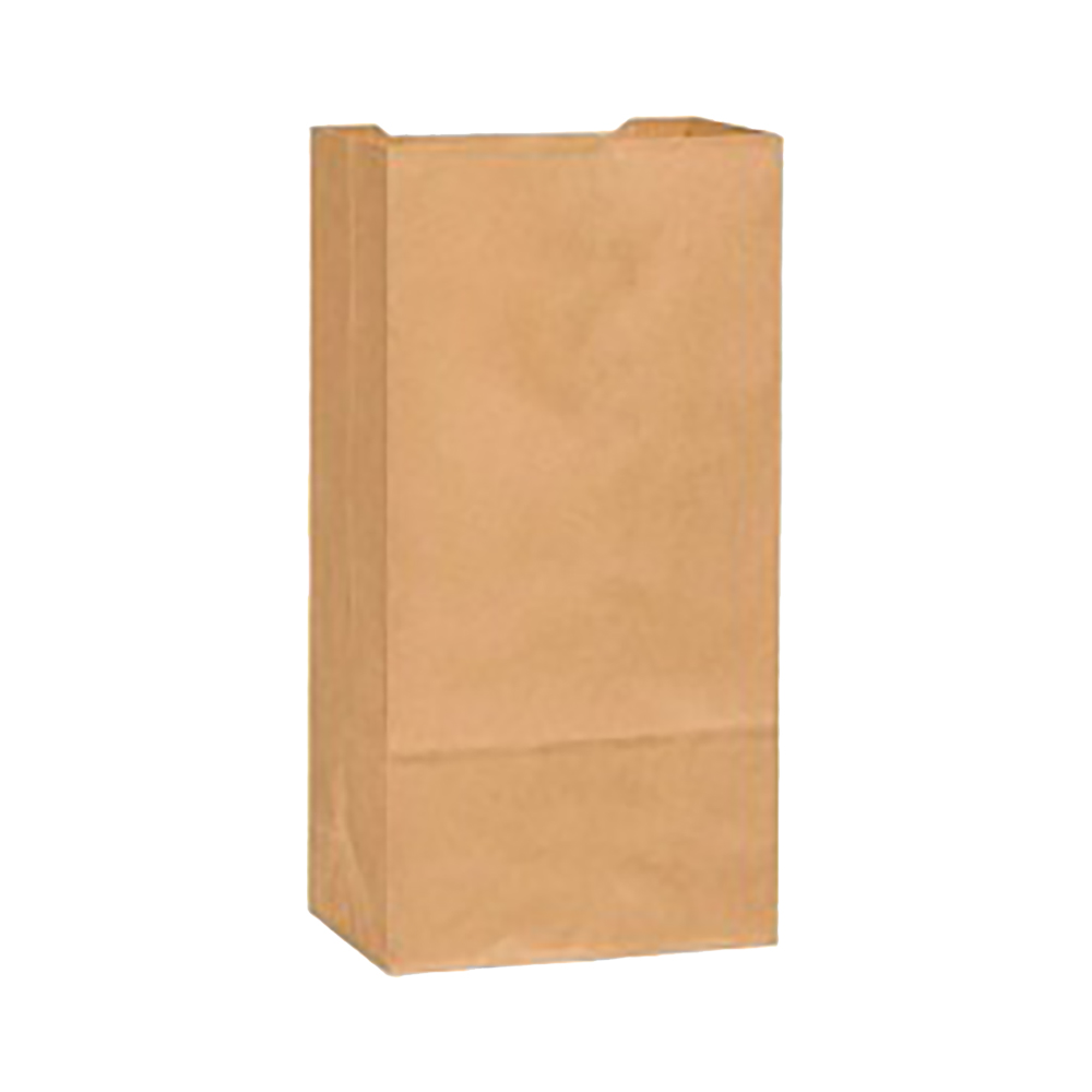 Duro Bag Kraft 50lb Heavy Duty Husky Recycled Grocery Bag 29804
