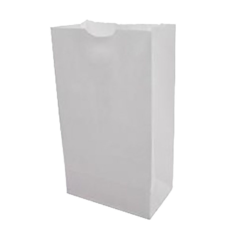Duro Bag White 2lb Wolf Grocery Bag 51002