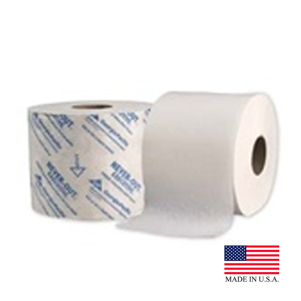Georgia Pacific White 2 Ply Never Out Executive High Capacity Bathroom Tissue 19029