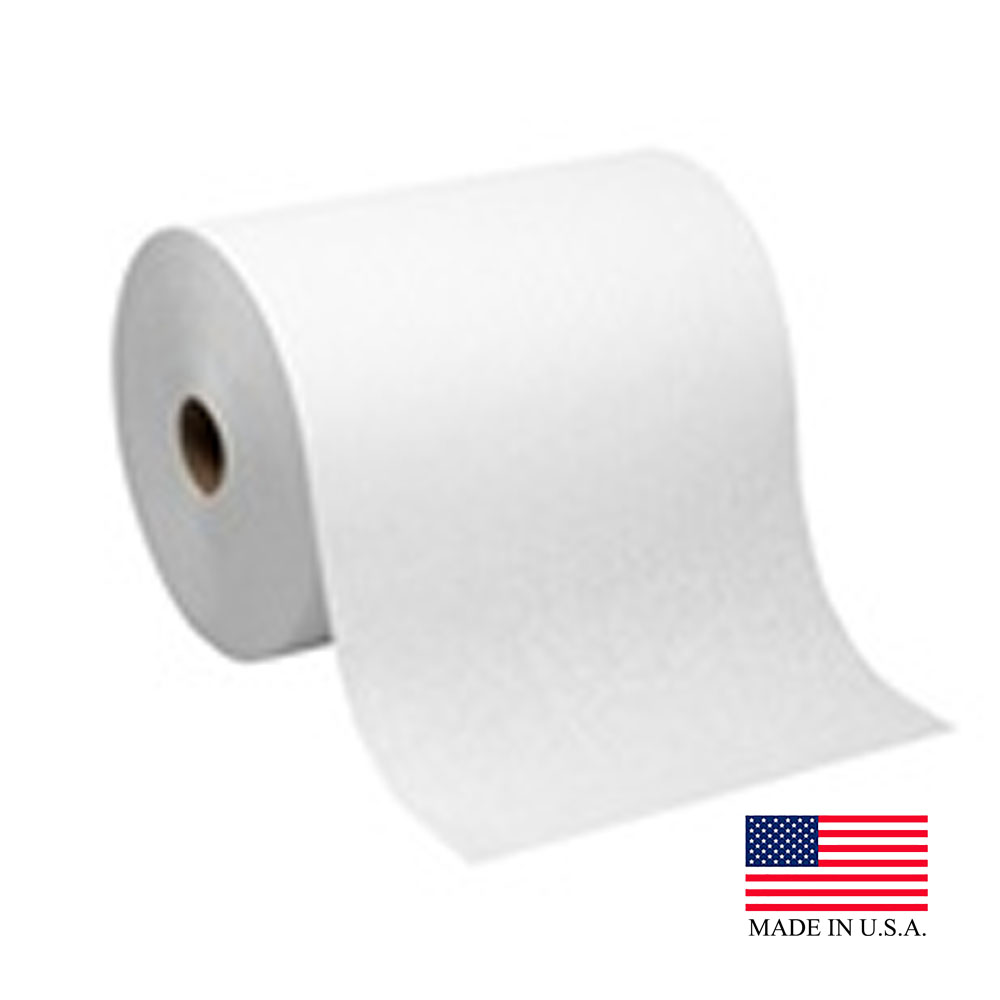 Georgia Pacific White 1 Ply Sofpull Hard Wound Paper Towel Roll 26470