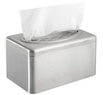 Kimberly Clark Stainless Steel Kleenex Box Towel Cover 09924