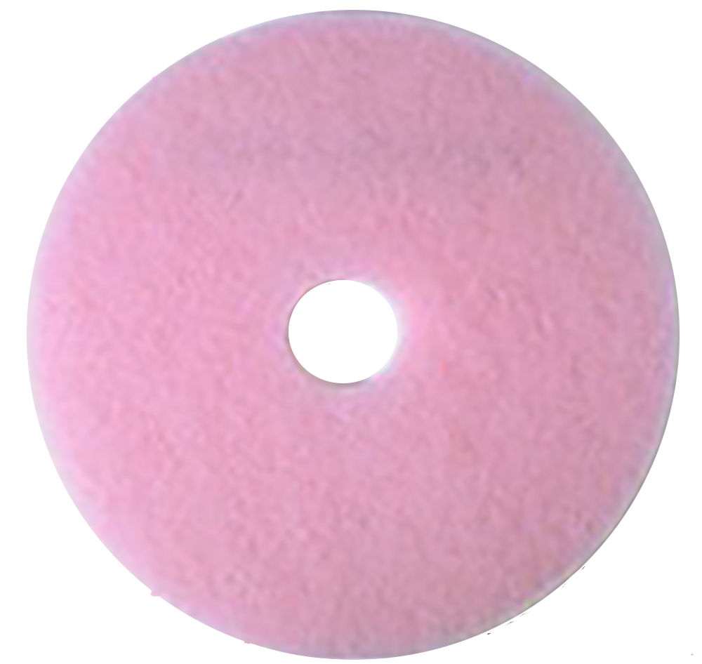 "3m Products Pink 20"" Eraser Burnish Pad 3600"