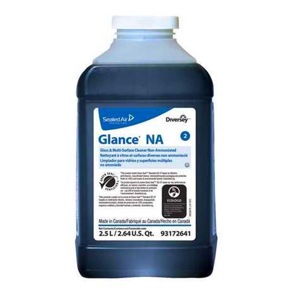 Diversey/SC Johnson 2.5L Glance Non-ammoniated Glass Cleaner 93172641
