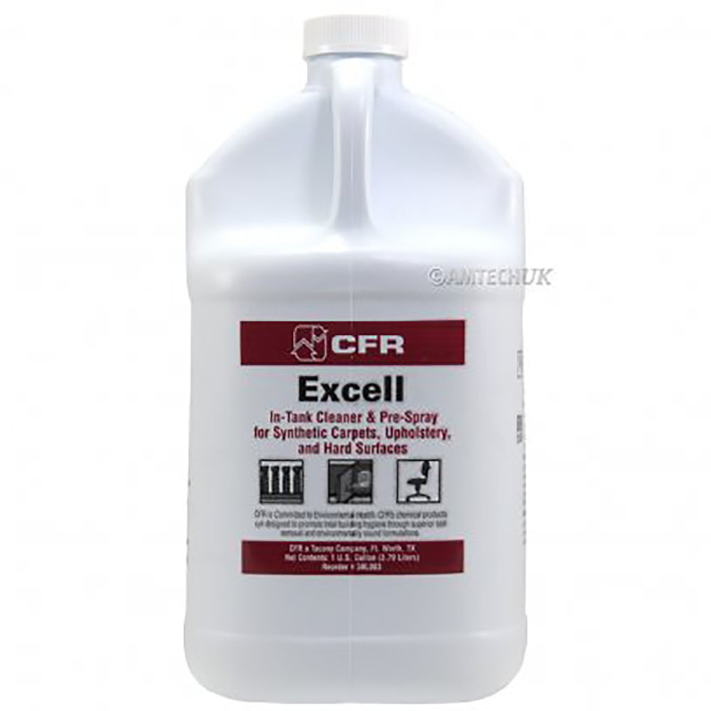 Tacony Clear 1 Gallon Excell Heavy Duty Carpet Shampoo Cleaner 3BL003