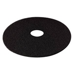 "3m Products Black 19"" High Productivity Floor Pads 7300"