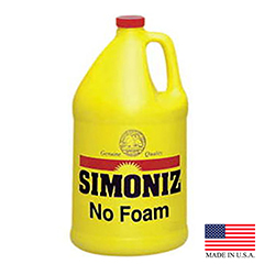Simoniz 1 Gallon No Foam Carpet Cleaner De-Foamer Silicone Blend N2600004