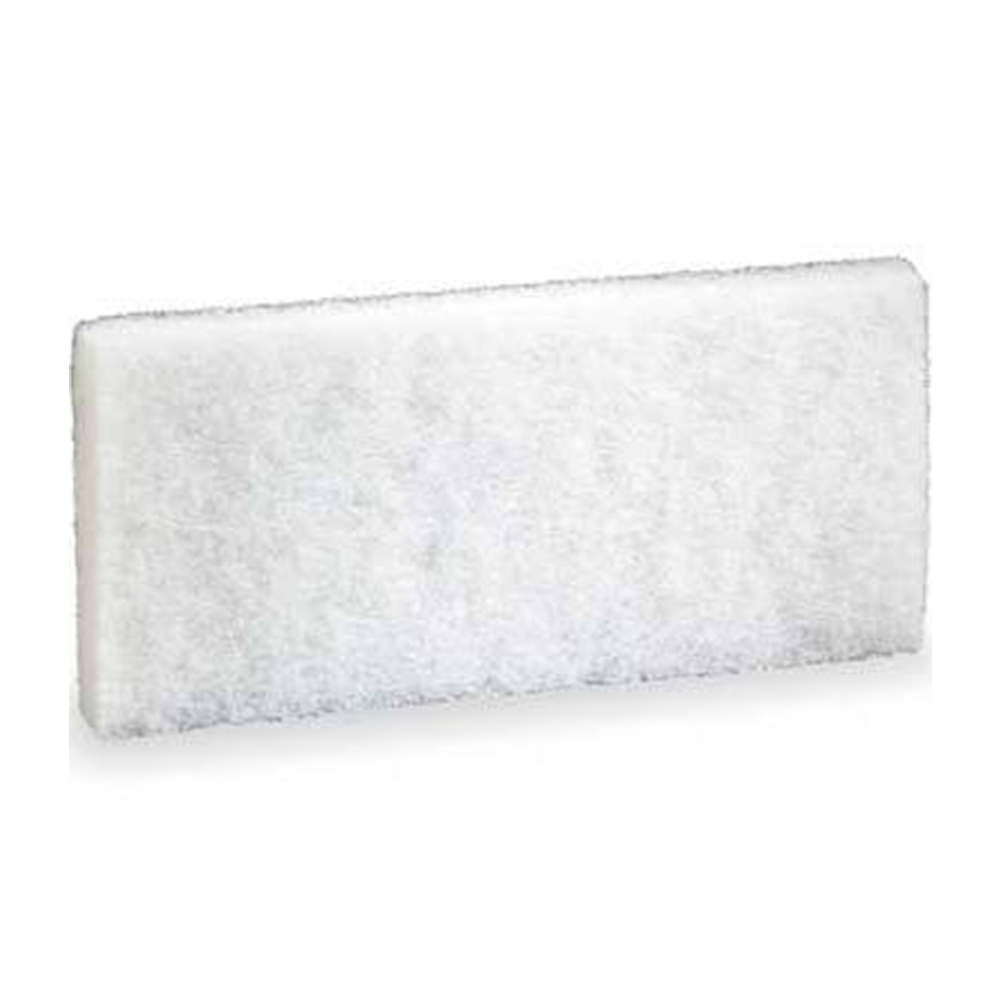 "3m Products White 4.6""x10"" Doodlebug Cleaning Pad 8440"