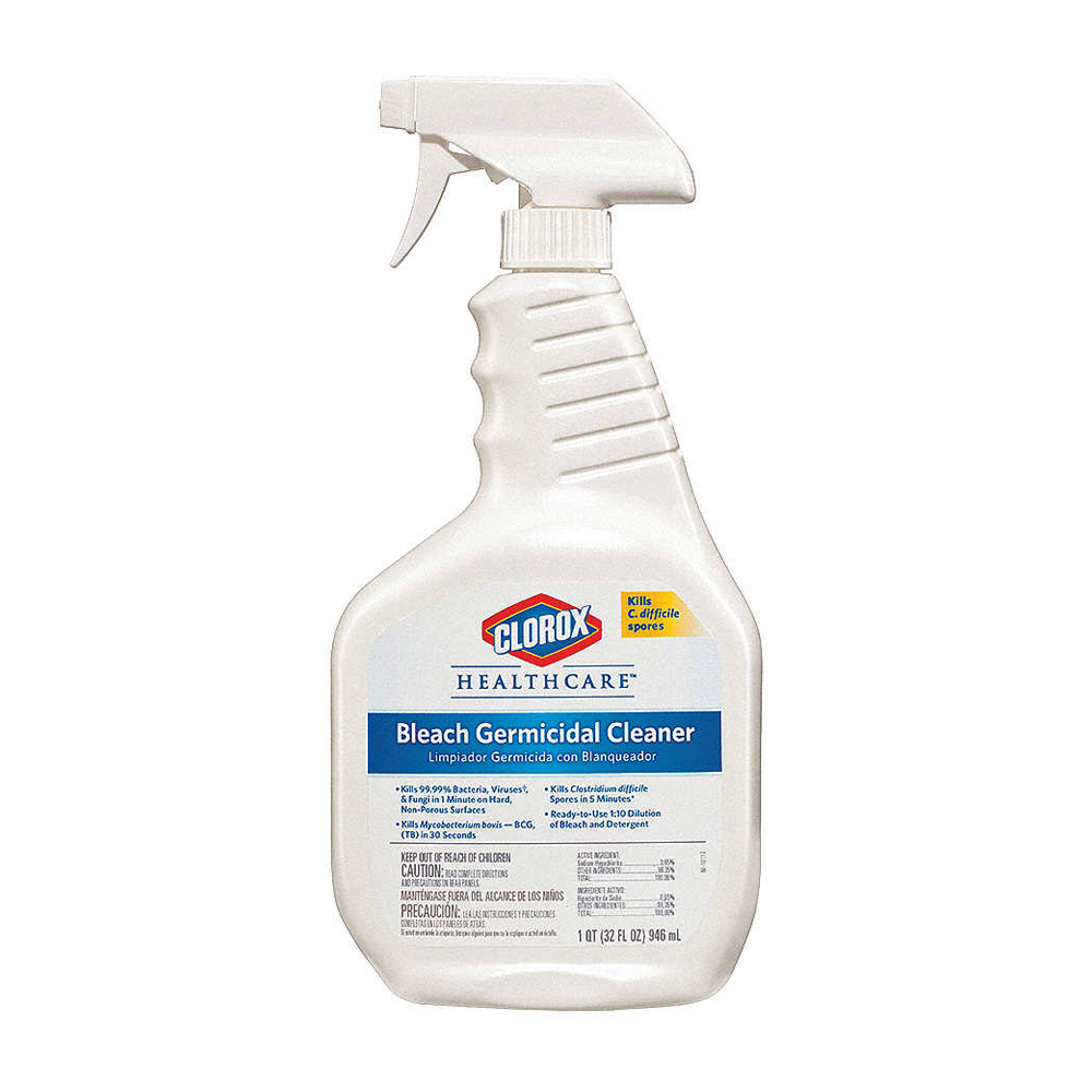 The Clorox Sales Company 32oz Hospital Cleaner    Disinfectant Spray With Bleach 68970