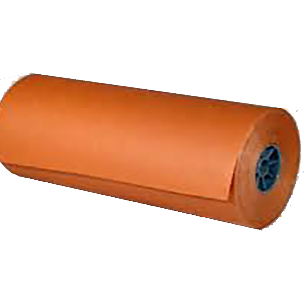 "Gordon Paper 24"" Peach Paper Roll 24""-40#"