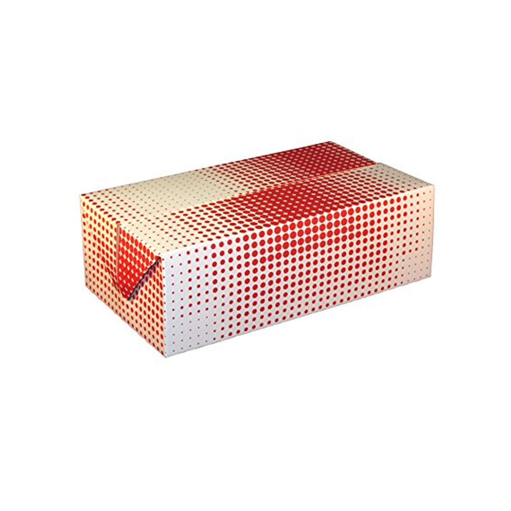 "Specialty Quality Plaid 9""x5""x3"" Fast Top Chicken Box 3515"