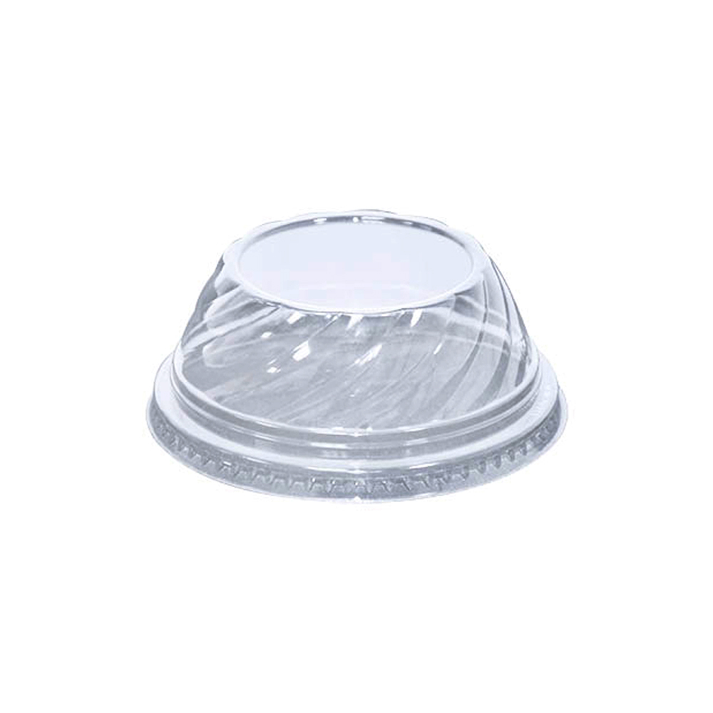 Fabrikal Dessert Swirl Dome Lid With No Hole DLDE1624NH/9506016