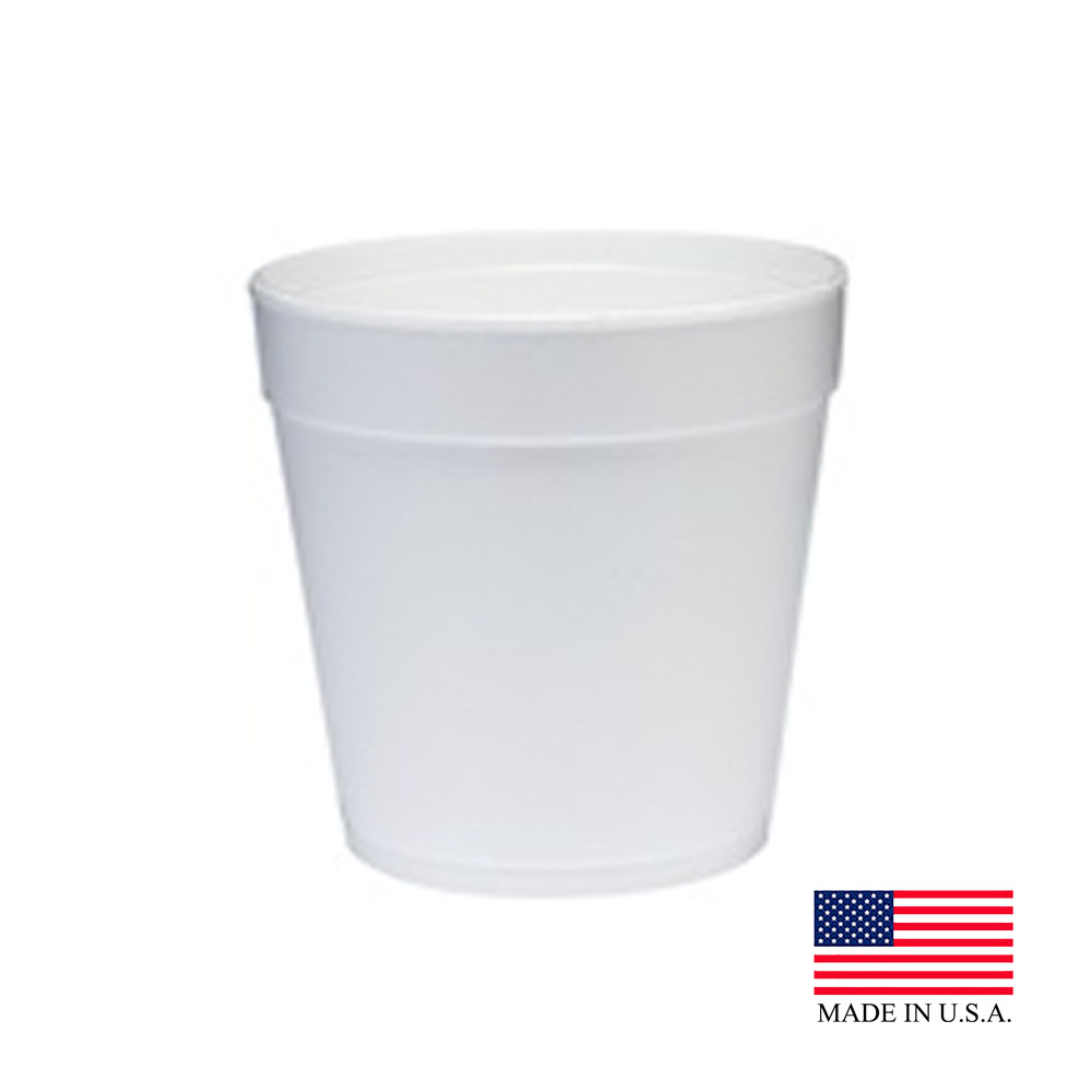 Dart White 32oz Foam Food Containers 32MJ48