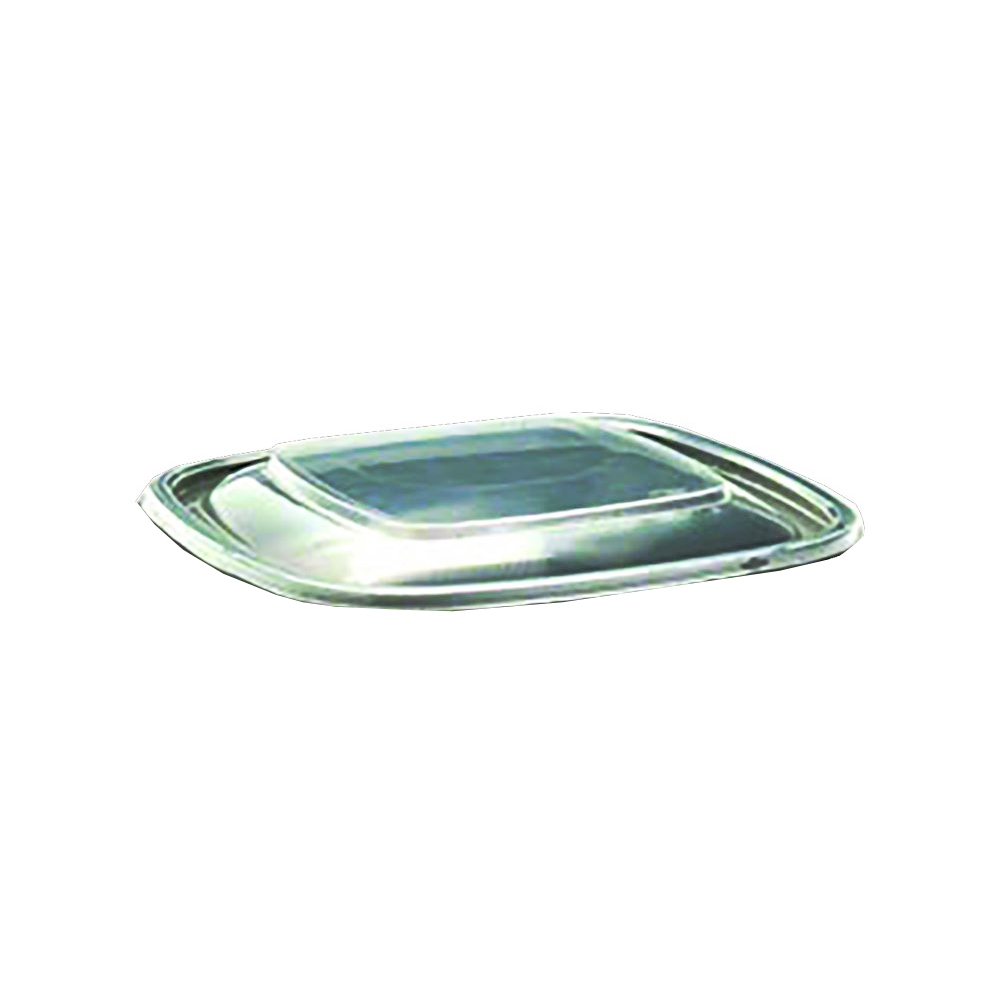 Sabert Clear 16oz Square Dome Lid 52671B300