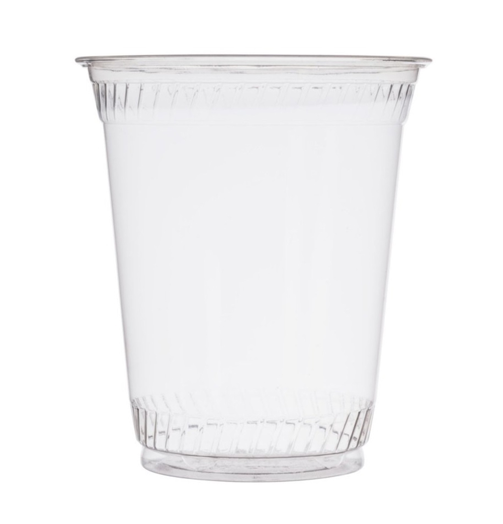 Fabrikal Clear 12/14oz Green Ware Drink Cup GC12S/9509104