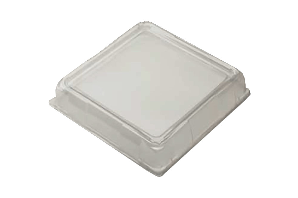 "Comet Clear 16""x16"" Square Dome Lid A1616DMPET"