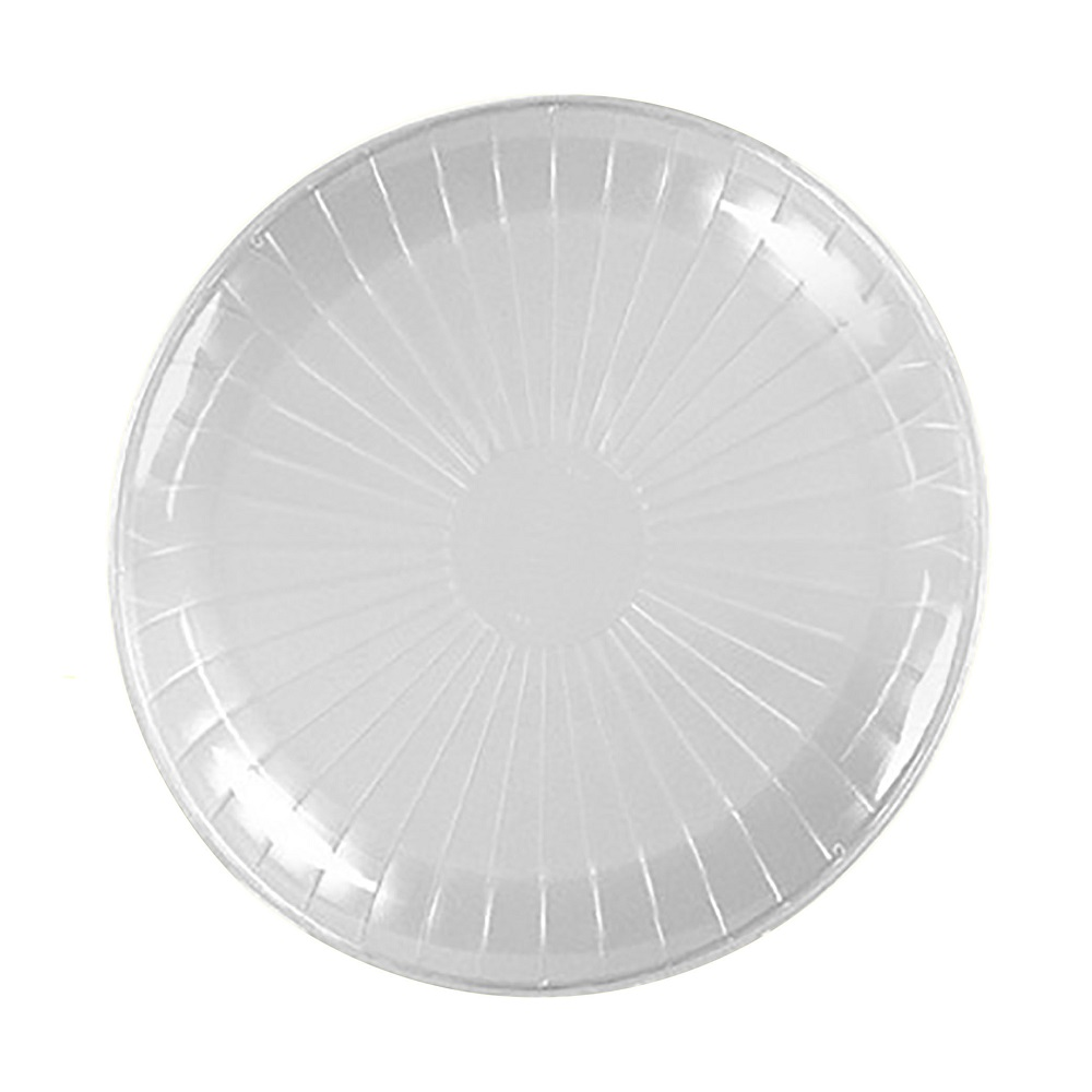 "Comet Clear 14"" Round Catering Tray A714PCL25"