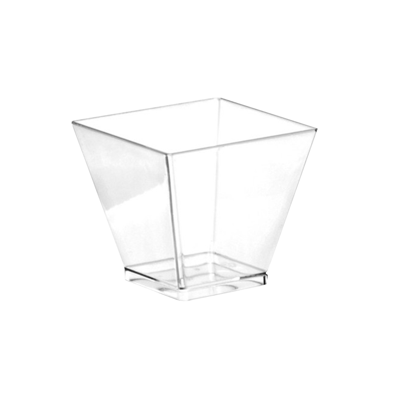 Comet Clear 1.75oz Square Shot Glass APTSQSHOT2