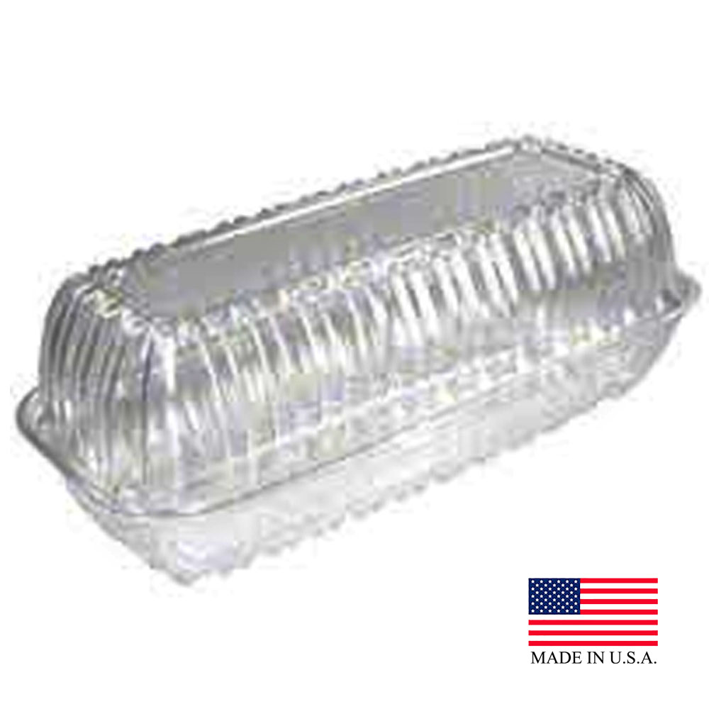 Dart Clear Showtime Hinged Hoagie Container C99HT1