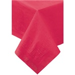 "Hoffmaster Red 54""x54"" 2ply Tissue Cellutex Table Cover 220411"