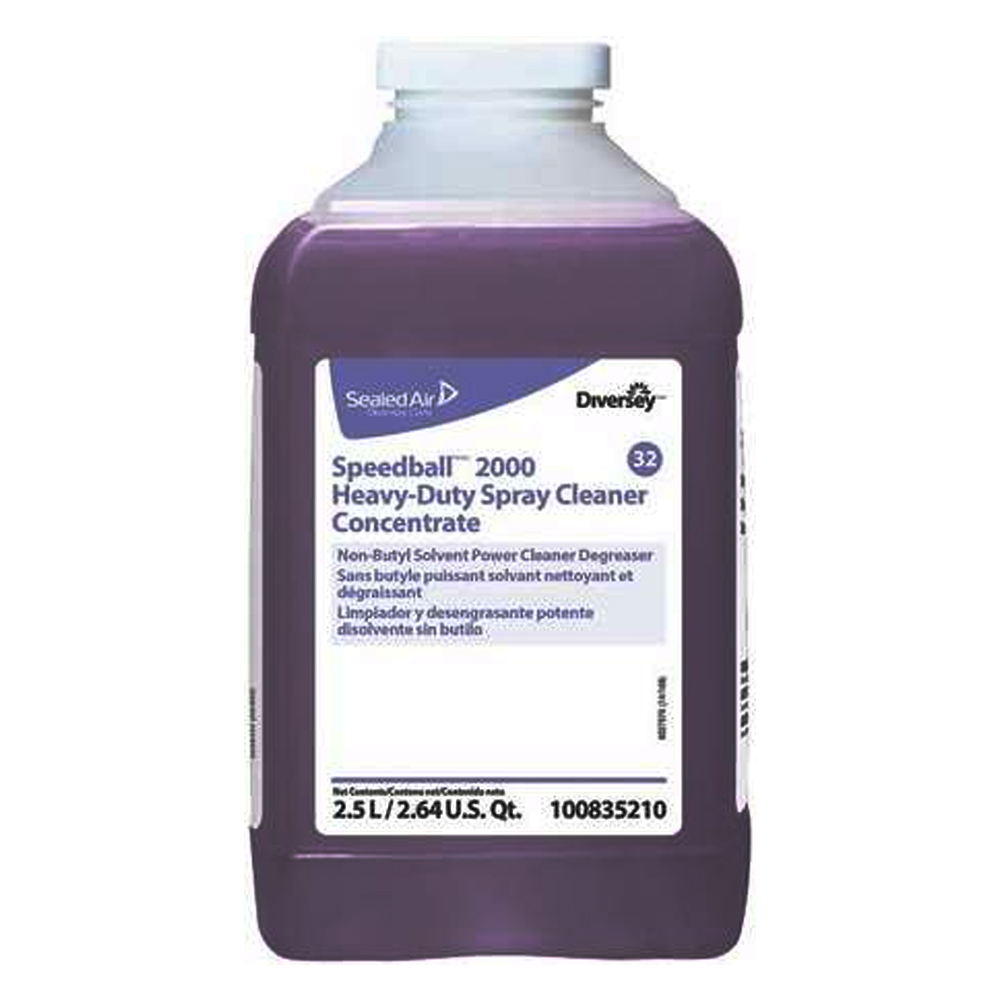Diversey/SC Johnson 2.5L Speedball 2000 Heavy Duty Concentrate Degreaser Cleaner 100835210