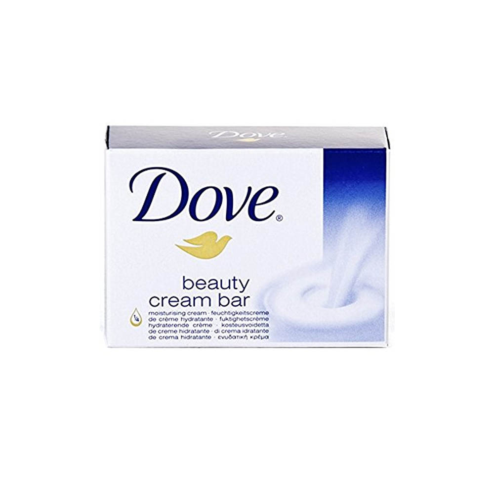 Dove 4.75oz White Creme Bar Sopa DOVE4.75OZ
