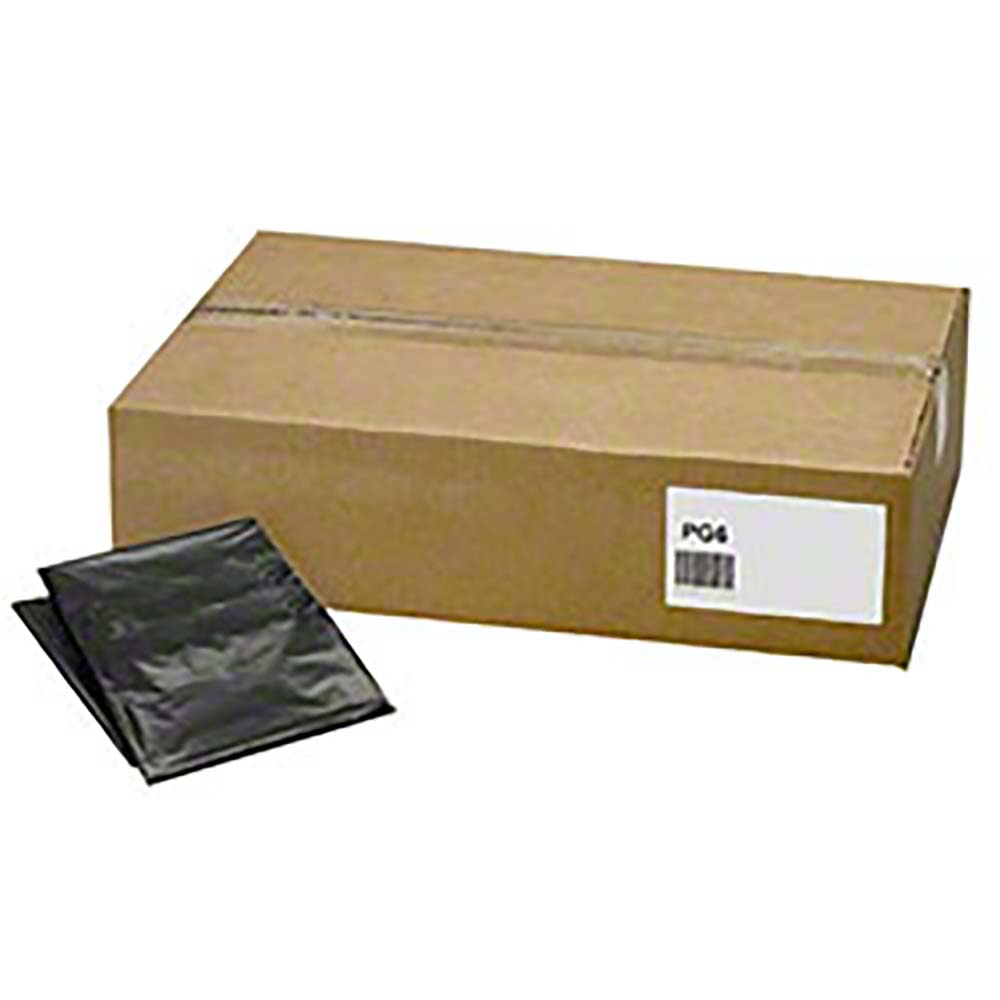 "Berry Plastics Black 33 Gallon 33""x39"" 2mil Can Liner On A Roll PGR3339X5B"