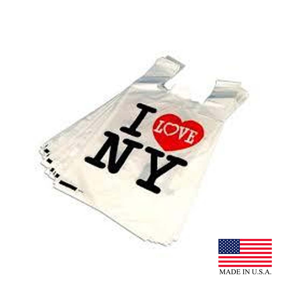 White 1/6 I Love NY T-Shirt Bag SYILOVENY