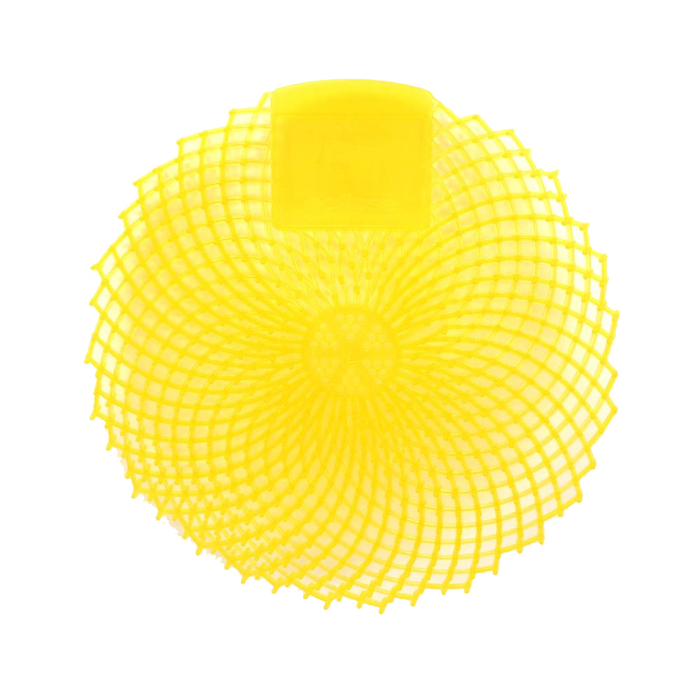 Impact Products Inc. - Eclipse Yellow Urinal      Screen with Citrus Grove Fragrance 149336
